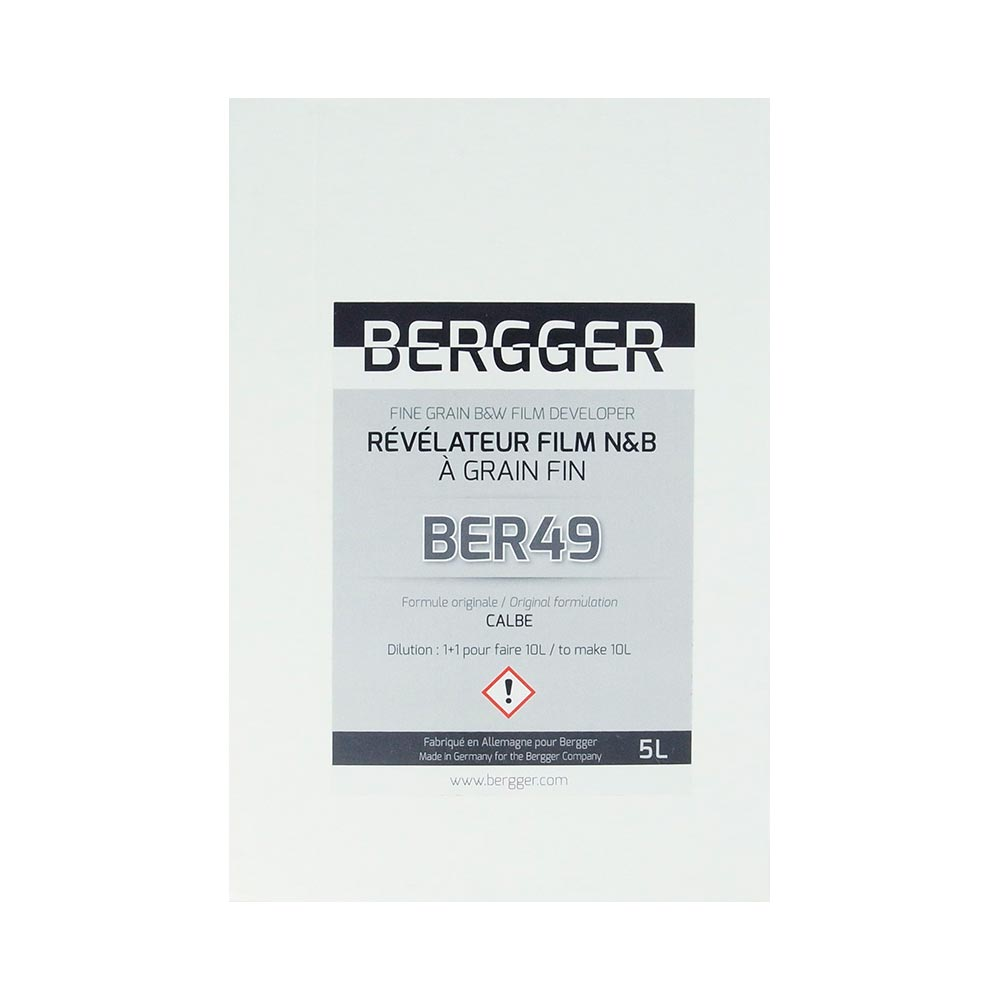 Bergger BER49 Photographic Film Developer – Powder to make 5 Liters