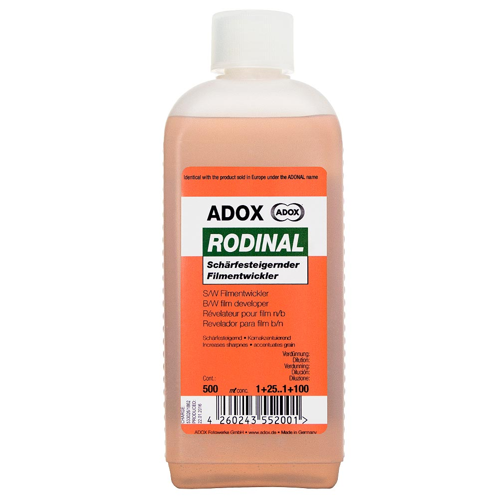 Adox RODINAL Film Developer – 500 ml Concentrate