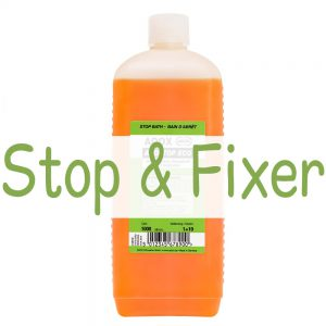 Stop Bath and Fixer