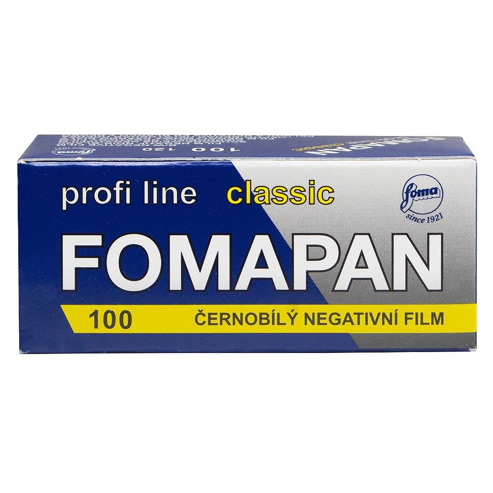 Fomapan 100 Classic Black & White 120 Roll Film