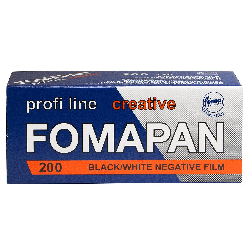 Fomapan 200 Creative Black & White 120 Roll Film
