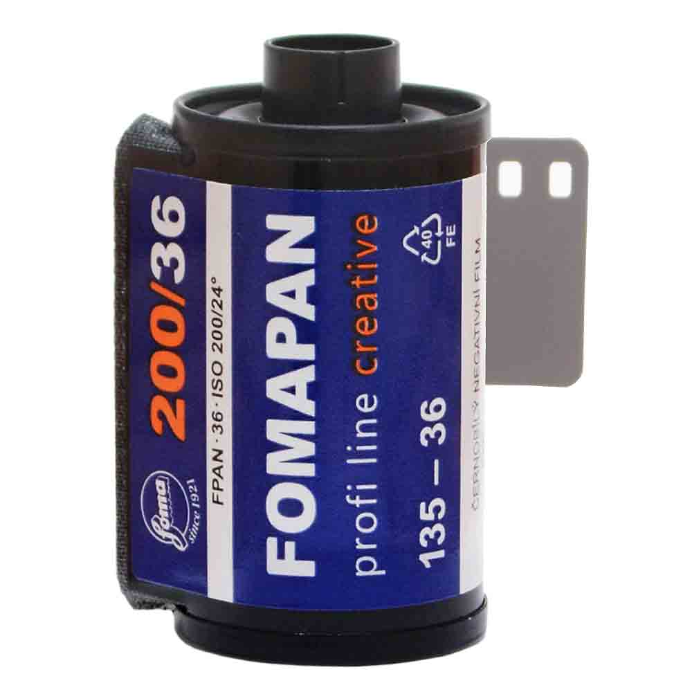 Fomapan 200 Creative Black & White Film – 35mm Format – 36 Exposures