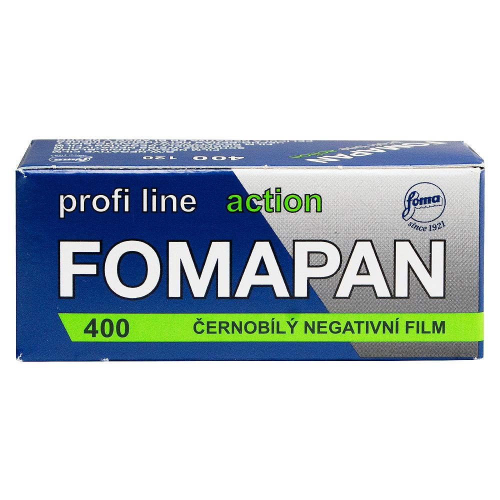 Fomapan 400 Action Black & White 120 Roll Film