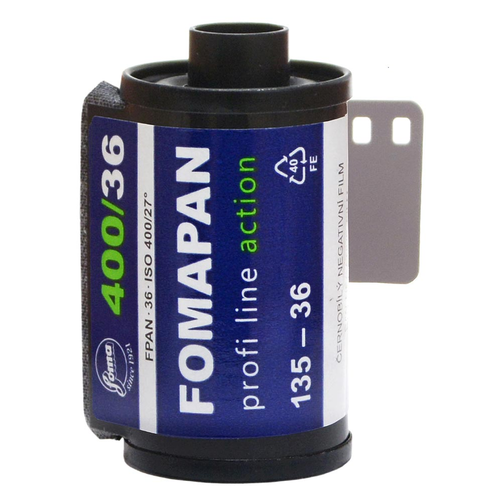 Fomapan 400 Action Black & White Film – 35mm Format – 36 Exposure