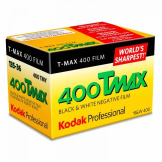 Kodak TMax 400 TMY Black & White 35mm Film - 36 Exposures