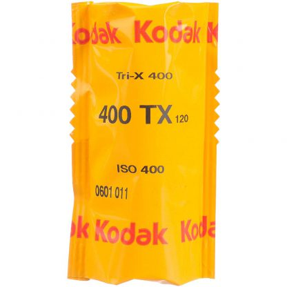 Kodak Professional Tri-X 400 Black & White 120 Roll Film