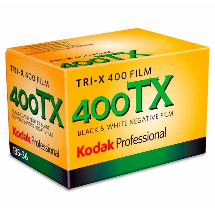 Kodak Tri-X 400 TX Black & White 35mm Film – 36 Exposures