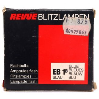 Revue EB1B Blue Flash Bulbs front