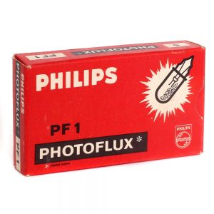 Philips Photoflux PF1 Flash Bulbs - front
