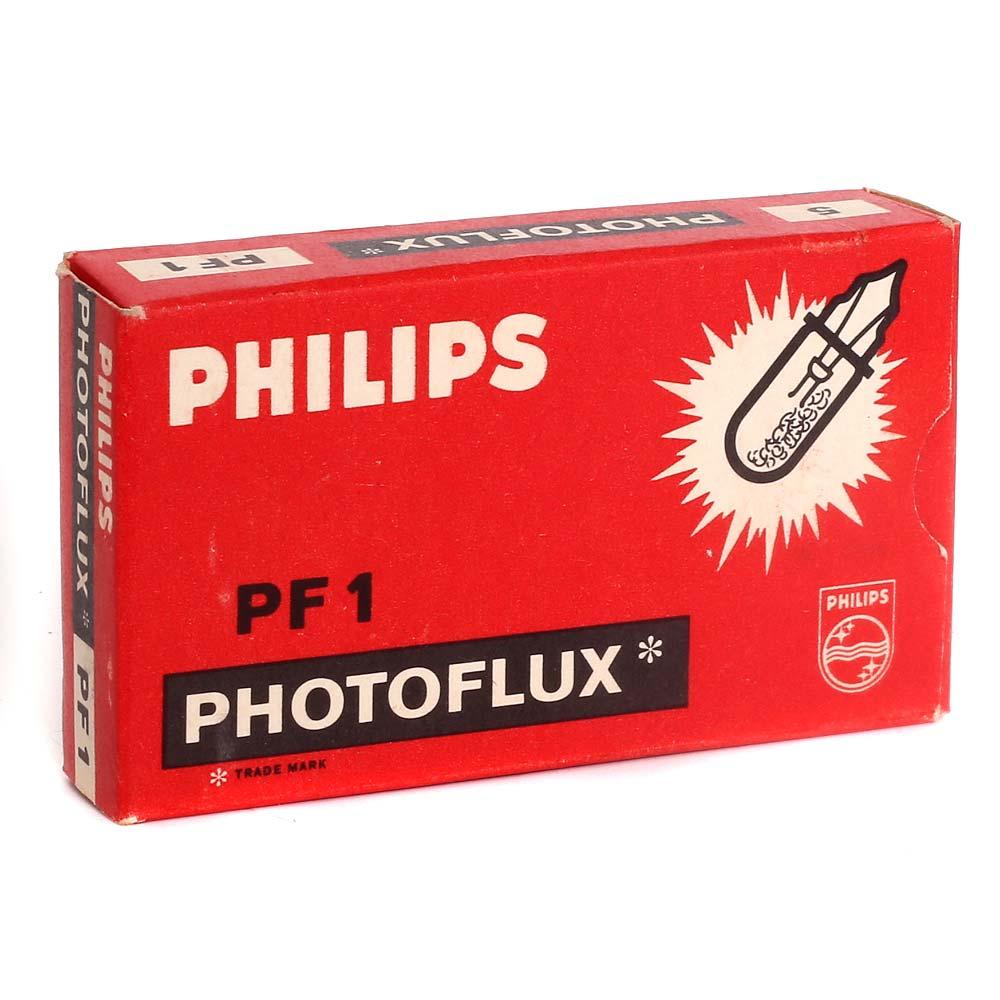 Philips Photoflux PF1 Flashbulbs – 5 Pack