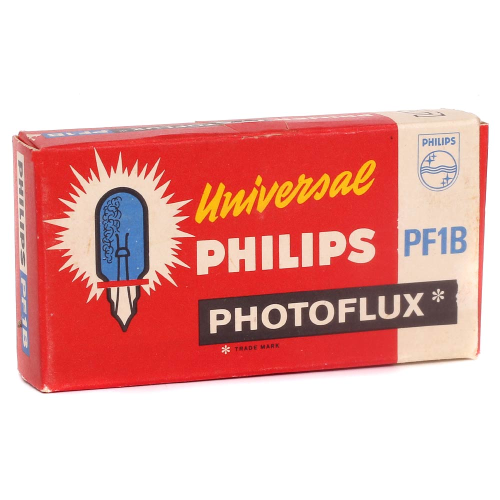 Philips Photoflux PF1B Flashbulbs – 5 Pack