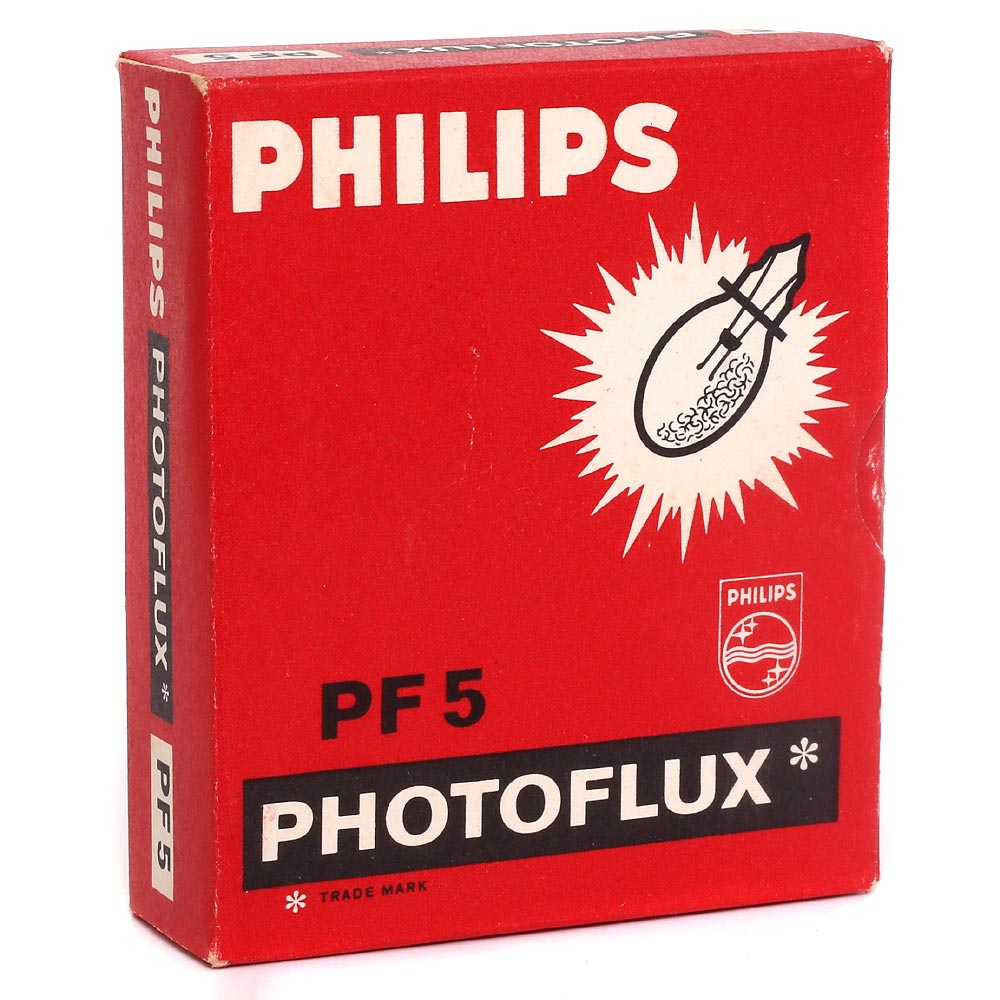 Philips Photoflux PF5 Flashbulbs – 5 Pack