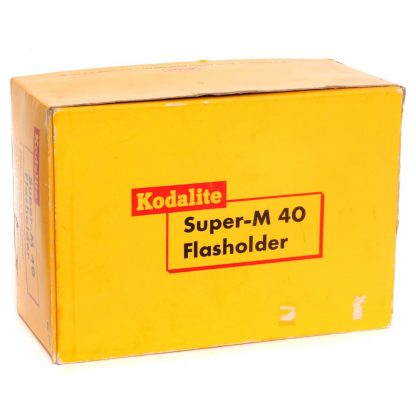 kodak m40 flasholder with three free bulbs 1