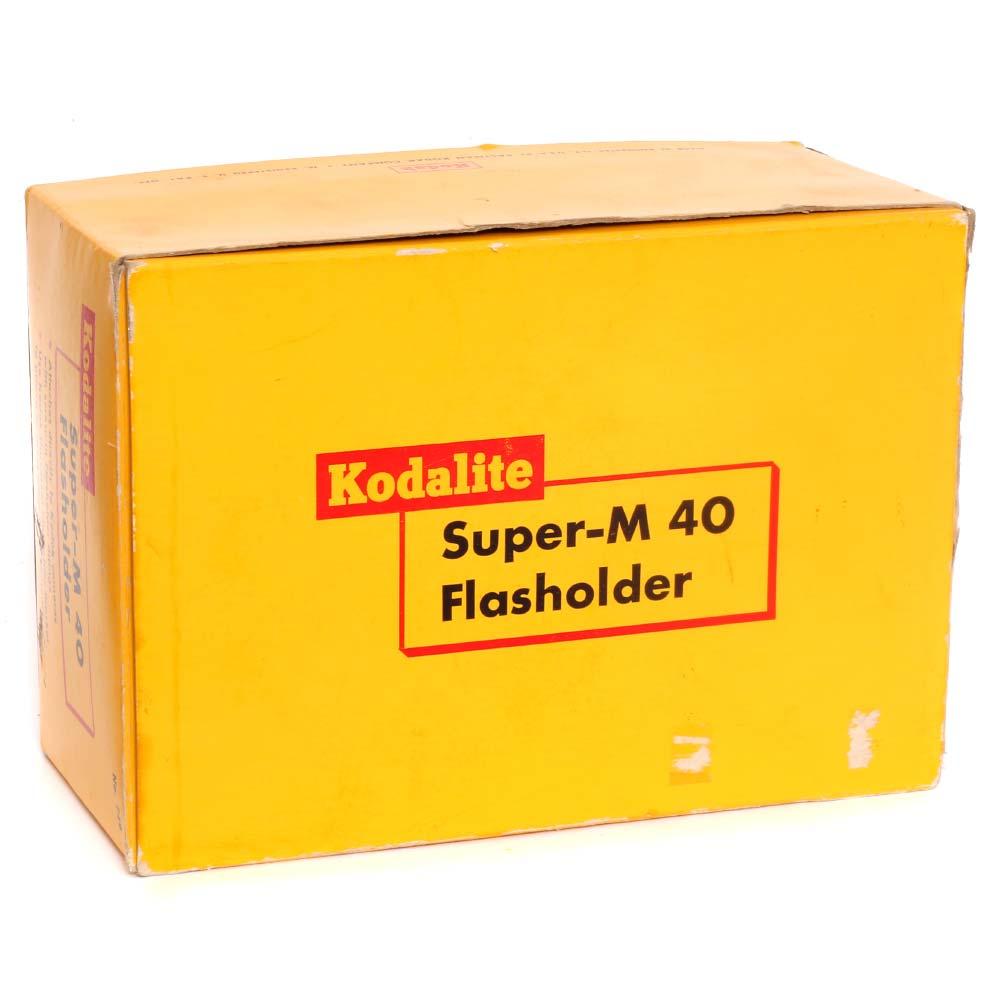 Kodak Kodalite Super-M 40 Flasholder with 3 Free Bulbs