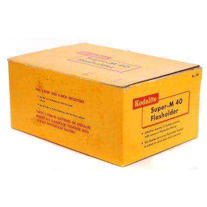 kodak m40 flasholder with three free bulbs 2