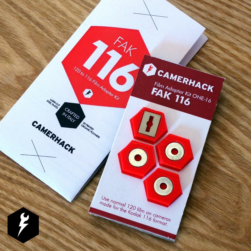 CamerHack 120 Rollfilm to 116 Rollfilm Adapter Kit