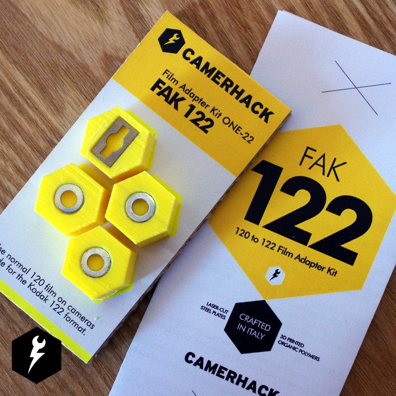 CamerHack 120 Rollfilm to 122 Rollfilm Adapter Kit