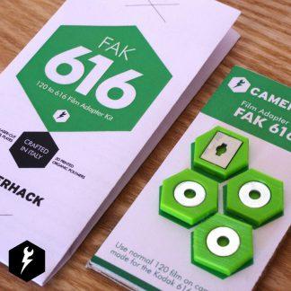 CameraHack 120 to Six-16 (616) Film Adapter Kit 1