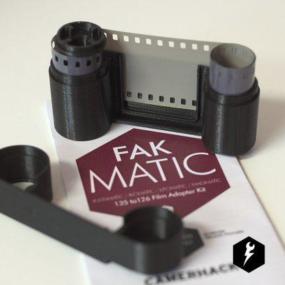CameraHack FAKMATIC 126 Film Cassette 1