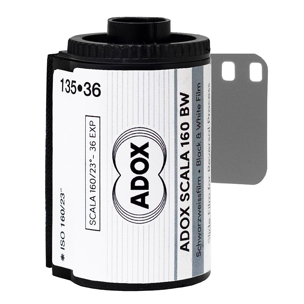 Adox SCALA 160 35mm B&W Reversal/Slide Film – 36 Exposures