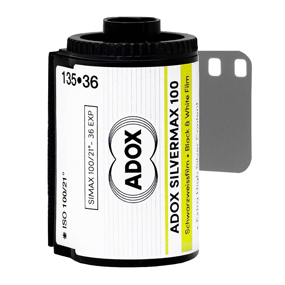 Adox Silvermax B&W 35mm Film – 36 Exposures