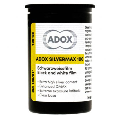 Adox Silvermax B&W 35mm Film