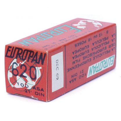 Europan 620 Roll Film expired