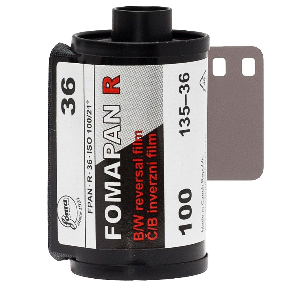 Fomapan R 100 35mm B&W Reversal/Slide Film – 36 Exposures