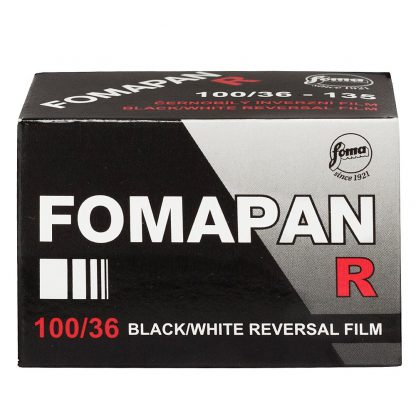 Fomapan R 100 35mm B&W Slide Film