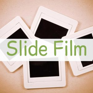 Slide - Tranparency Film