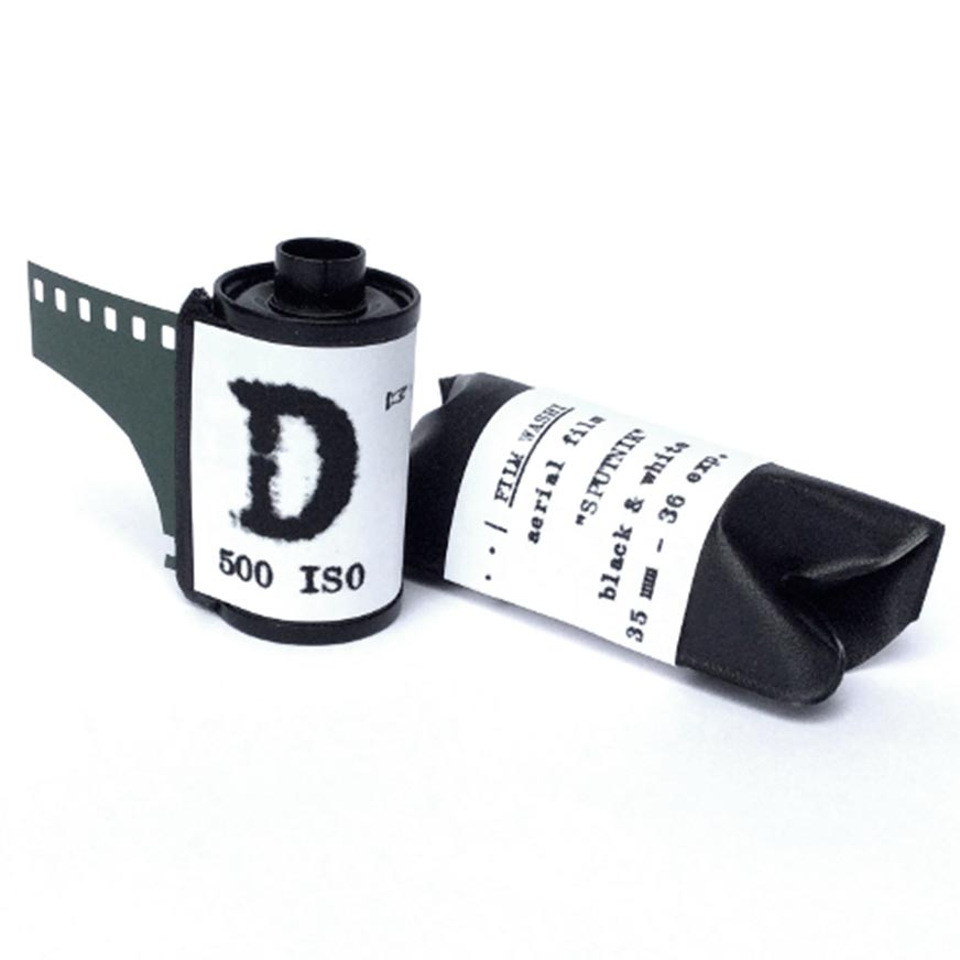 "Film Washi ""D"" 35mm – Russian Aerospace – Panchromatic – 500 iso – 36 exp"