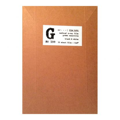 Film Washi G 4x5 sheet film