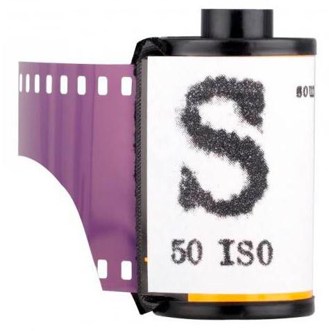 "Film Washi ""S"" 35mm – Sound Recording Film – 50 iso – 36 exp"
