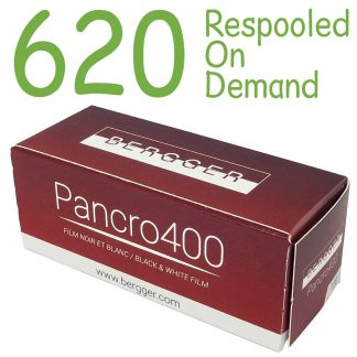 Bergger Pancro 620 Film - repooled on demand