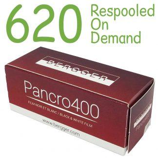 Bergger Pancro 620 Film - repooled on demand