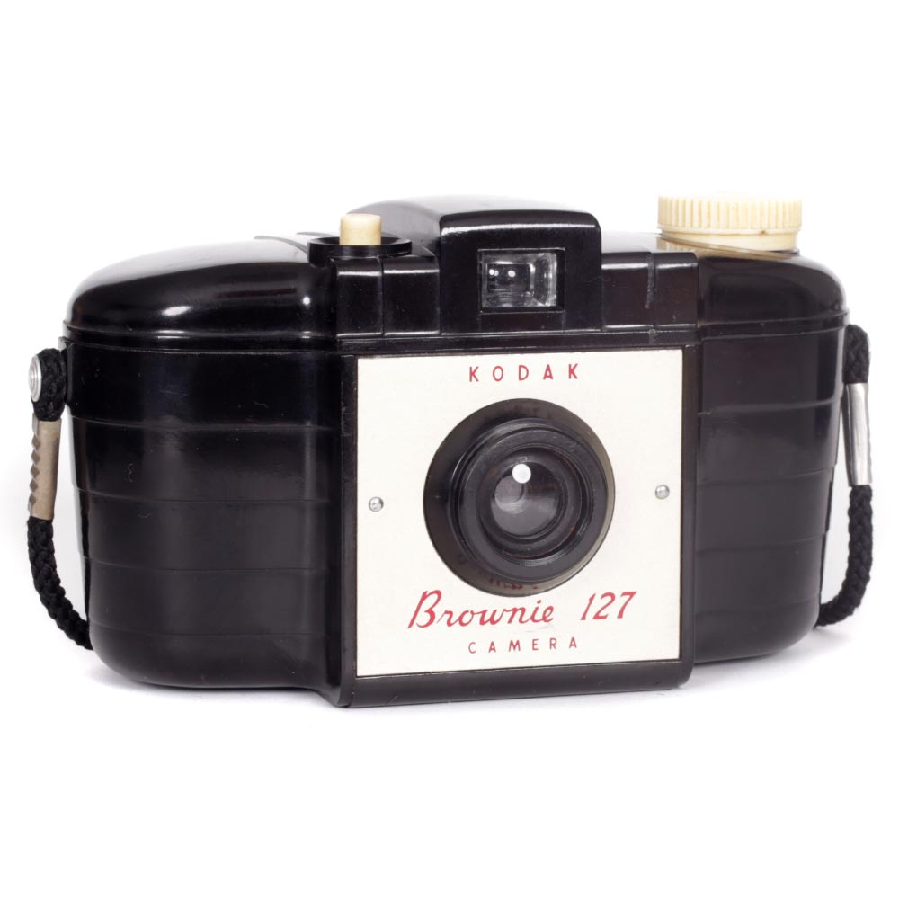 Kodak Brownie 127 Camera with Neck Strap – 1st Model