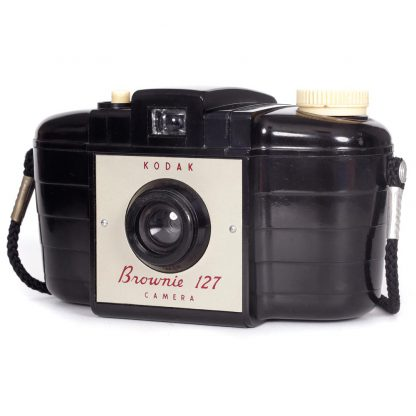 Kodak Brownie 127 Camera left