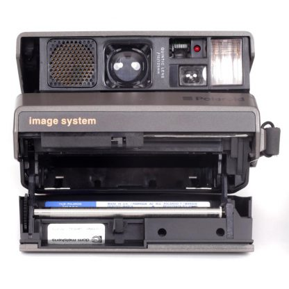 Polaroid Image System Camera open film compartment