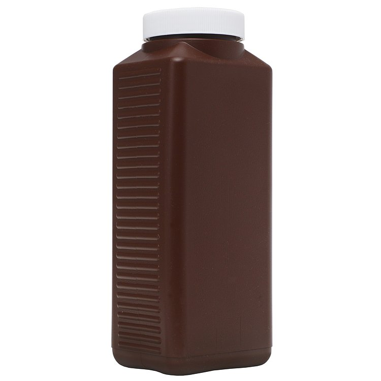 Fotoimpex Wide-Mouth Brown Plastic Chemical Bottle – 1000ml