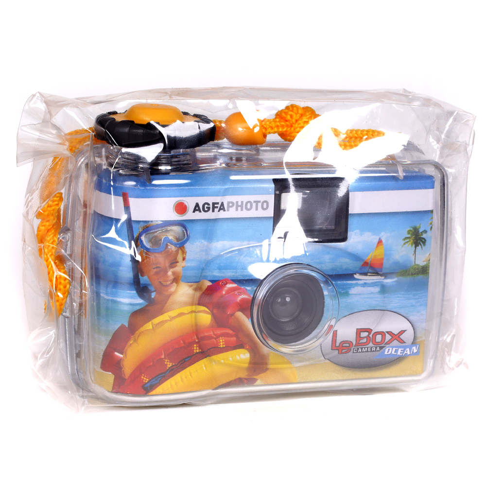 AgfaPhoto Le Box Ocean Single Use Waterproof Camera – ISO 400 – 27 Exposures