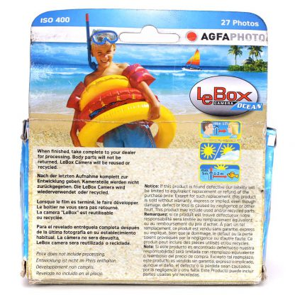 Agfa LeBox Ocean box back