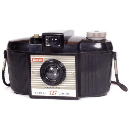 Kodak Brownie 127 Camera, Second Model front-2