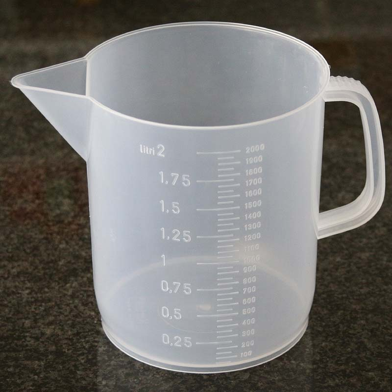Vos/Kartell PP 2000ml Graduated Measuring/Mixing Beaker