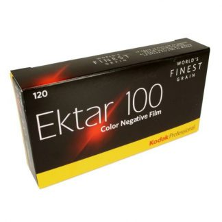 Kodak Ektar 100 Professional Color Print Film – 120 Format - 5 Pack