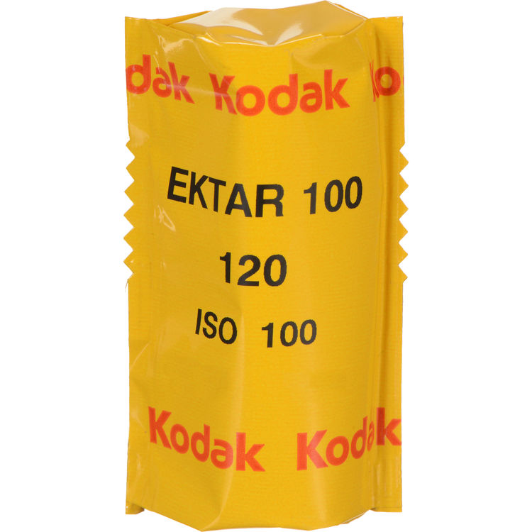 Kodak Ektar 100 Professional Color Print 120 Roll Film