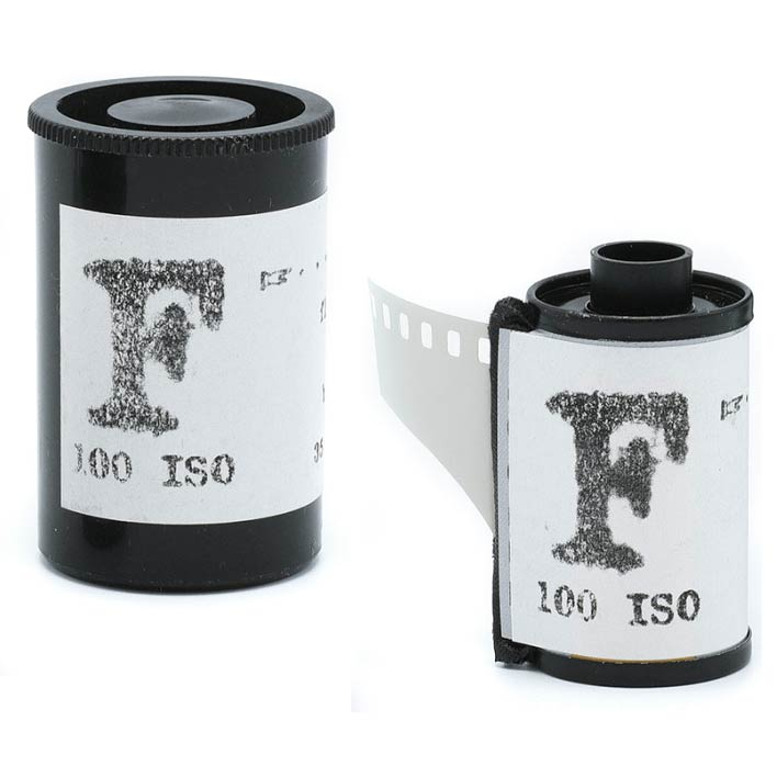 "Film Washi ""F"" 35mm – Medical Fluorographic X-Ray Film – 100 iso – 24 exp"