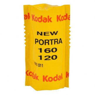 Kodak Portra 160 Professional Color Print 120 Roll Film