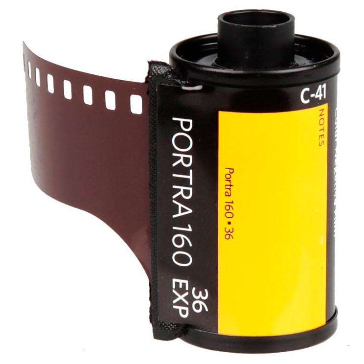 Kodak Portra 160 Professional Color Print 35mm Film – 36 Exposures