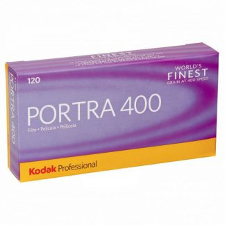 Kodak Portra 400 Professional Color Print 120 Roll Film - 5 Pack
