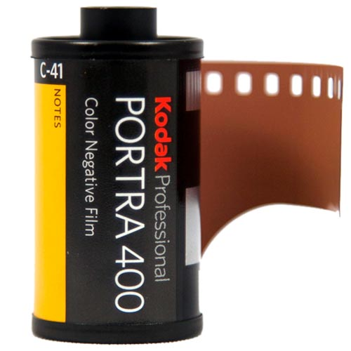 Kodak Portra 400 Professional Color Print 35mm Film – 36 Exposures